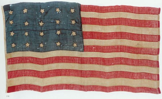 The Evolution of Old Glory--The 20-Star Flag of the United States