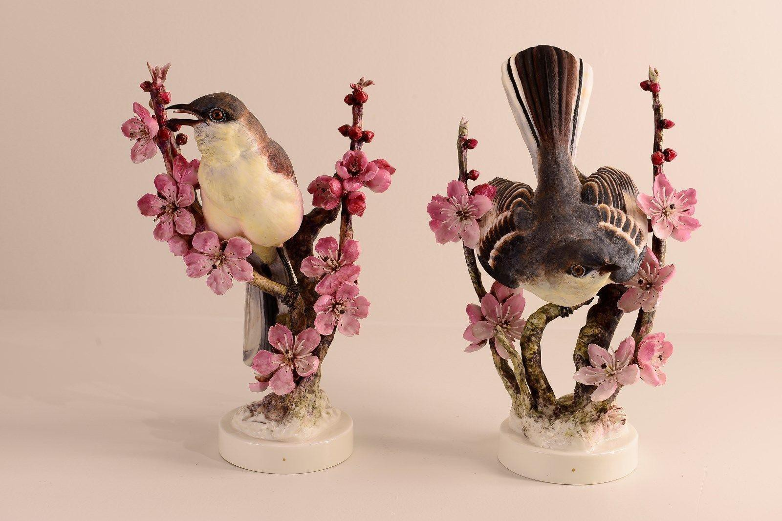 From the Worthologists' Files:  Royal Worcester Bird Figurines