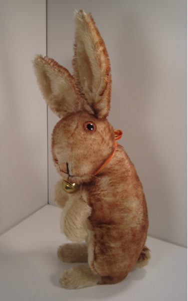 All Ears Over This Vintage Tipped Mohair Steiff Rabbit