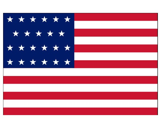 The Evolution of Old Glory--The 23-Star Flag of the United States of America