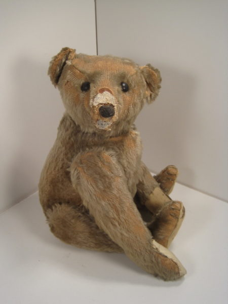 A Fabulous Find--The Rarest of Rare, a Steiff Rod Bear!