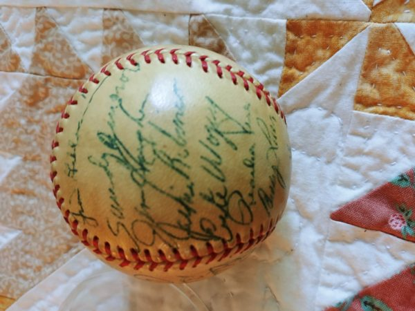 RINKER ON COLLECTIBLES Q/A: A Baseball, a 1911 Coin, a Sebastian Miniature, and an Otagiri Bank