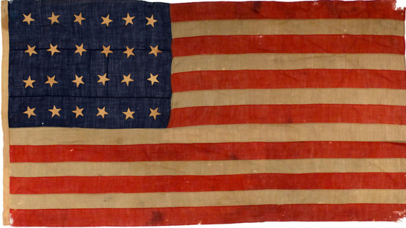 The Evolution of Old Glory: The 24 Star Flag of the United States