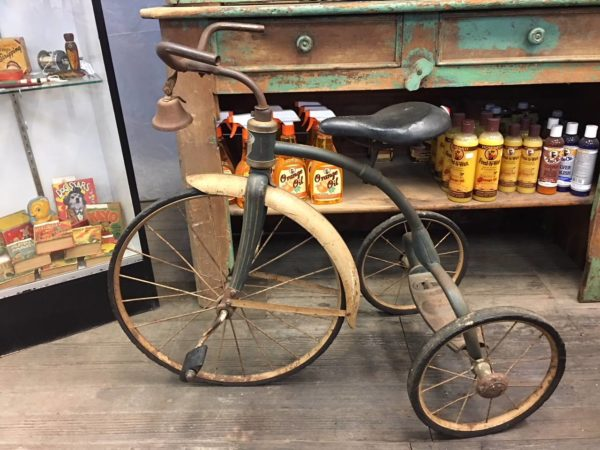 RINKER ON COLLECTIBLES Q/A: A Tricycle, a Silver Bar, a Whiskey Bottle, and a Soda Bottle