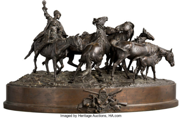Russian Bronze Sculpture Leads Heritage Auctions' Fine & Decorative Arts Including Estates Auction Beyond $1.7 Million