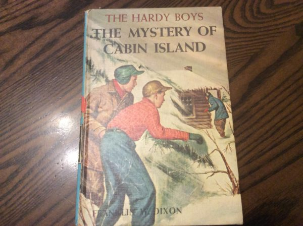 RINKER ON COLLECTIBLES Q/A:  A Hardy Boys Book, a Lamp, a Pin, and a Demilune Bone Dish