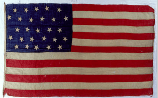 The Evolution of Old Glory:  The 27 Star Flag of the United States of America