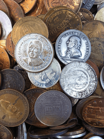 Coins, Currency, Stamps, and Neighbors
