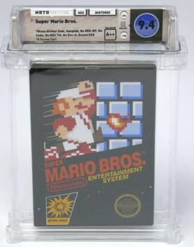 Copy of Super Mario Bros. Video Game Sets World-Record Price of $100,150