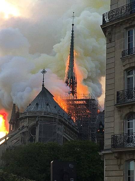 "Tragedy in Paris: The Fire at Notre Dame and Why Things are ""Valuable"""