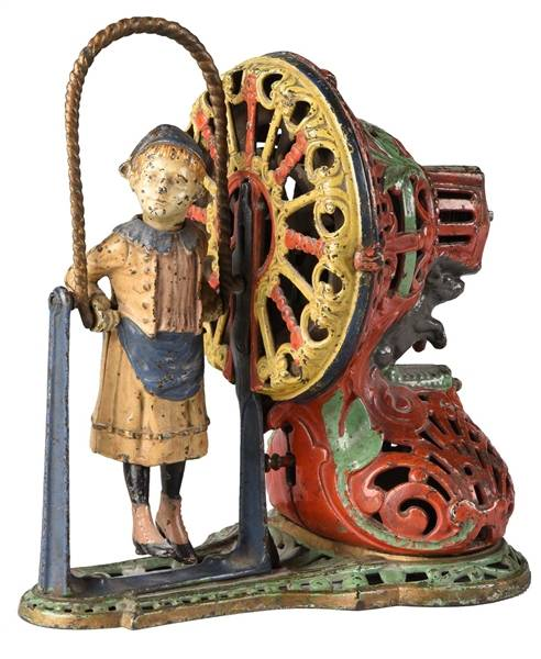 Antique Cast Iron Toys and Banks
