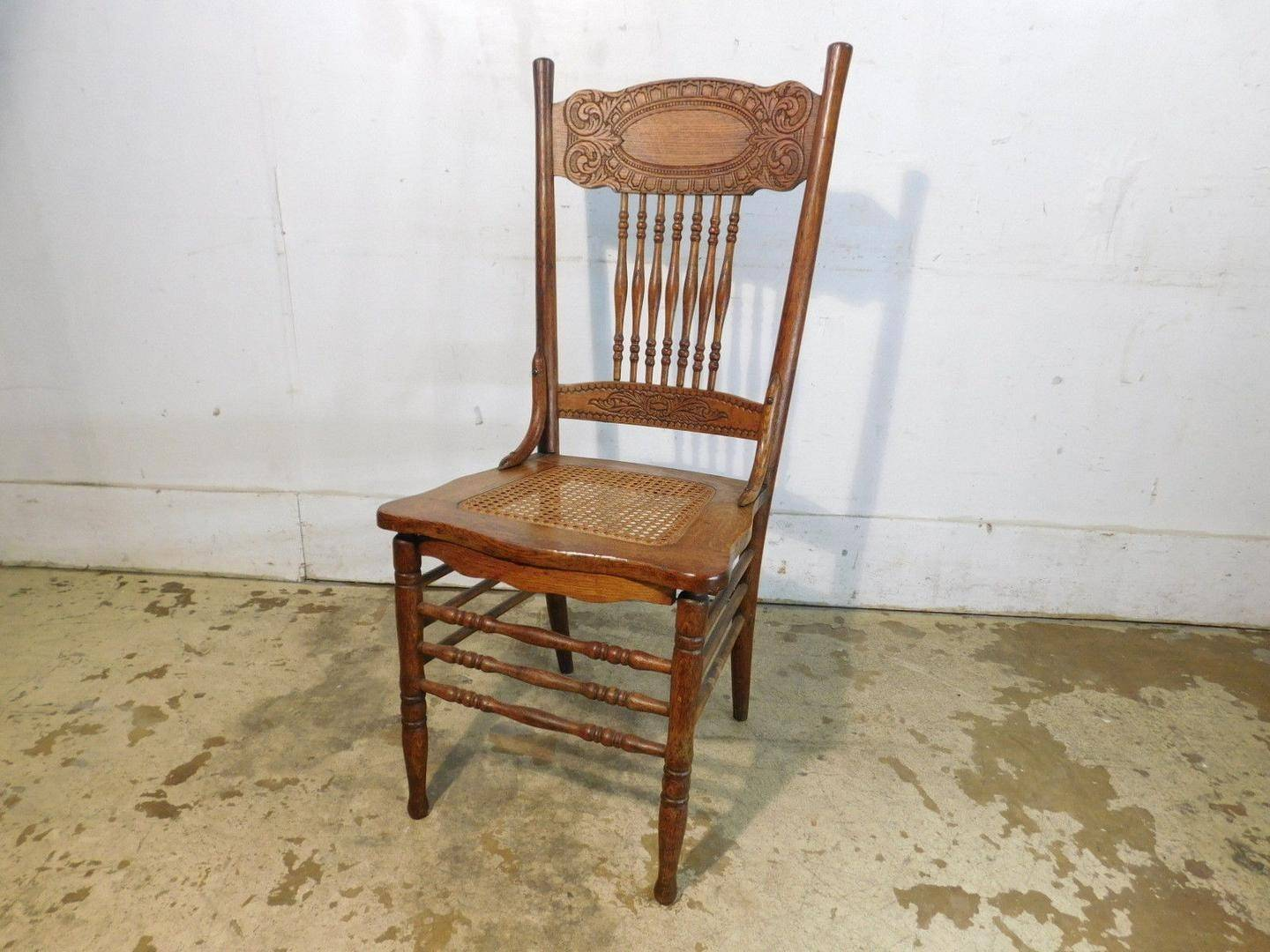 An Appraiser's Diary: What Do You Do with a Huge Collection of Press Back Chairs?