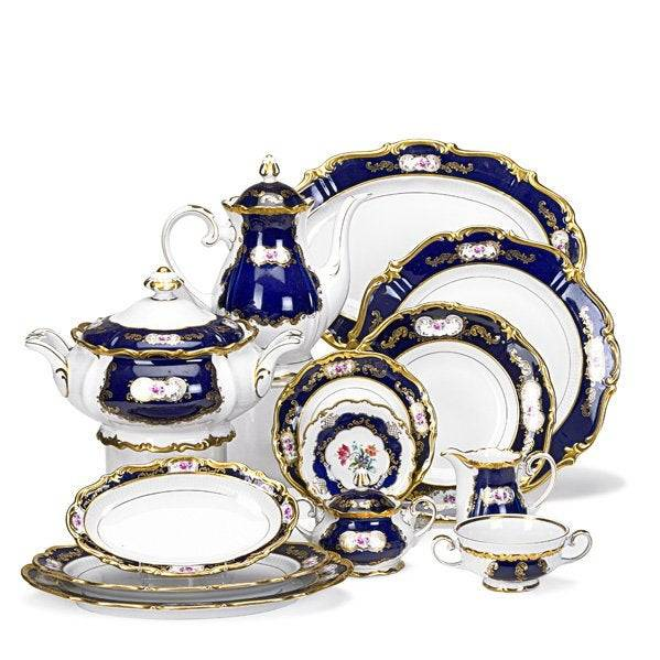 From the Worthologists' Files: Reichenbach Echt Kobalt China Set