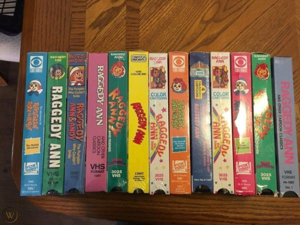 Let's Rewind: VHS Tapes Are Collectible